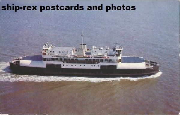 LORD SELKIRK (Northumberland Ferries) postcard (a2)